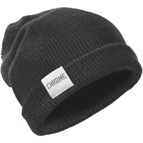 Chrome Wool Cuff Czapka, black
